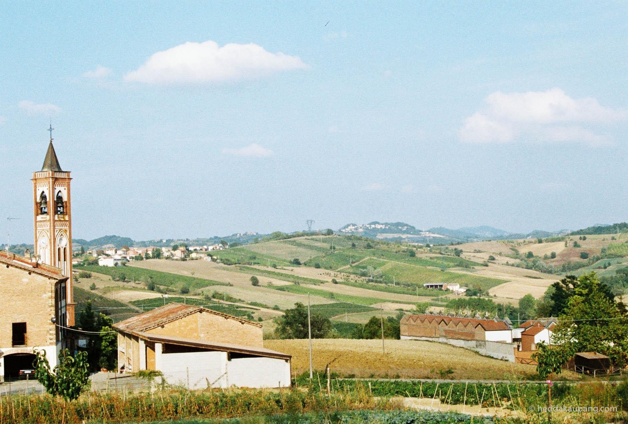 Beautiful view from Valli Unite.