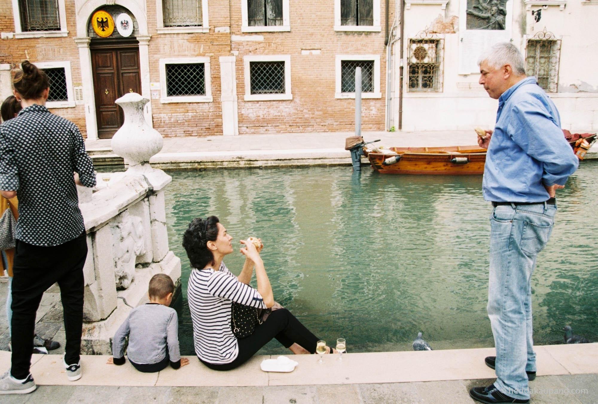 De lokale i Venezia