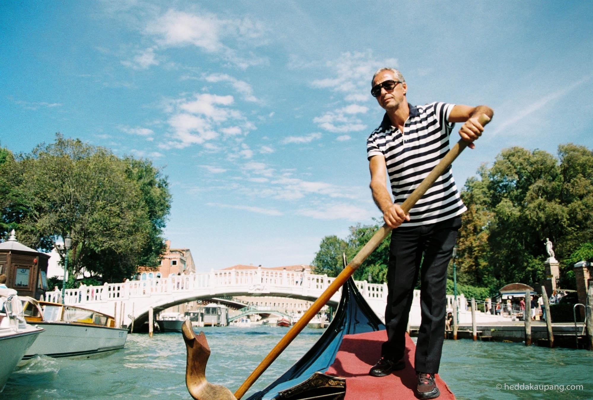 Gondol i Venezia