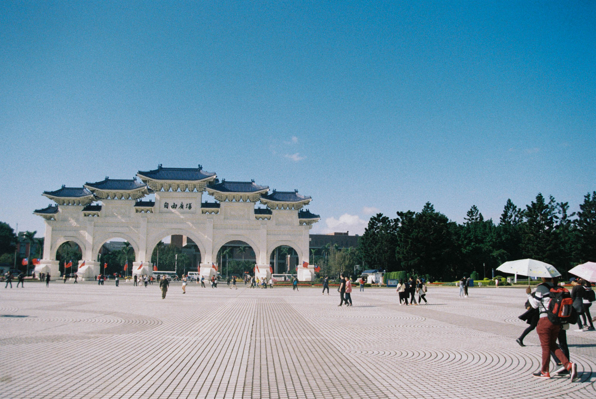 Chiang Kai-shek Memorial Hall Ta-Chung Gate