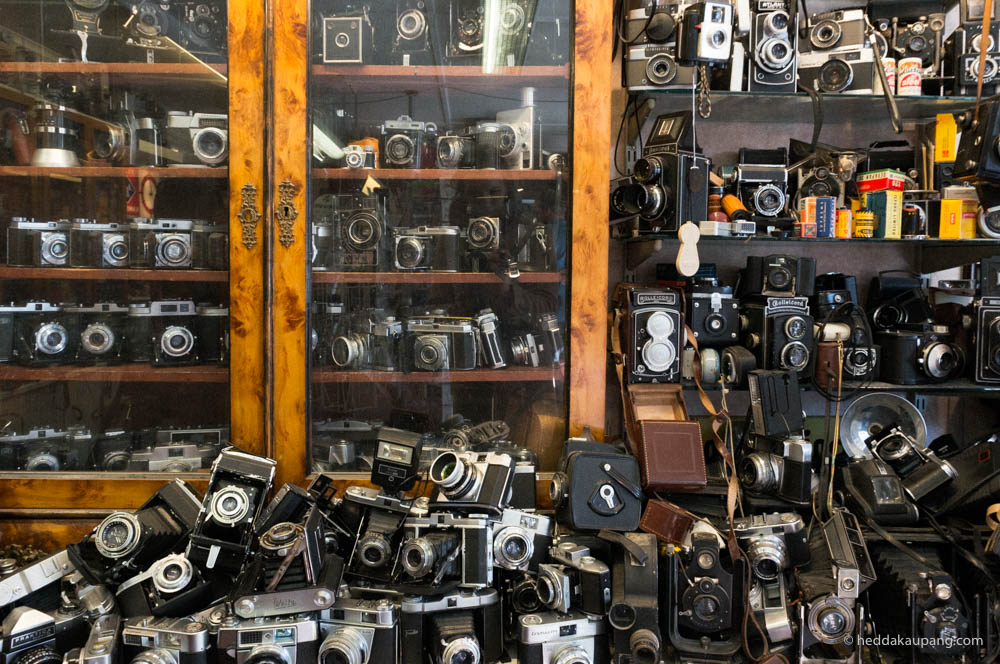 The camera shop in Nora