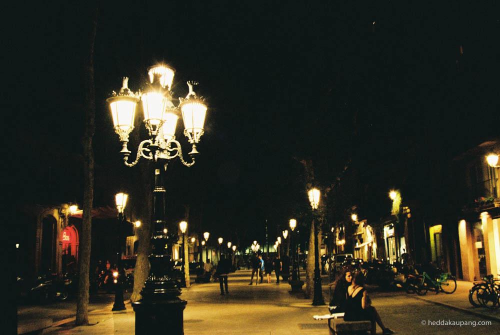 Midnatt i Barcelona