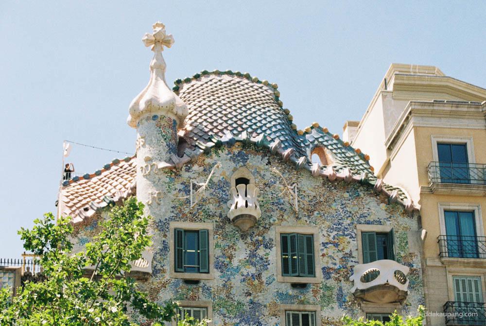 Casa Batlló av Antoni Gaudí