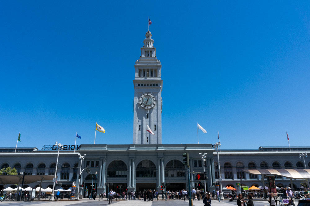 The Ferry Building Marketplace i San Francisco.