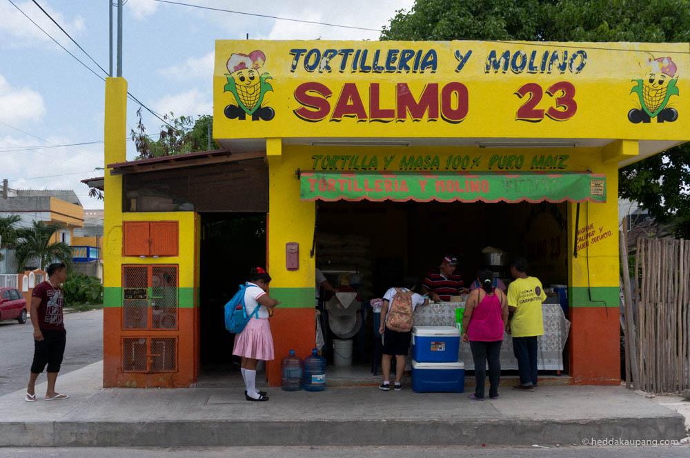 Tortilla in Tulum