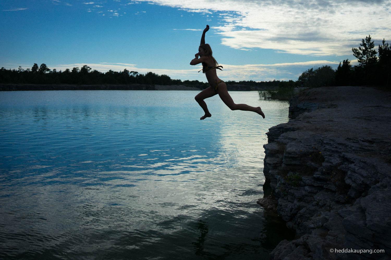 the Blue Lagoon, Gotland