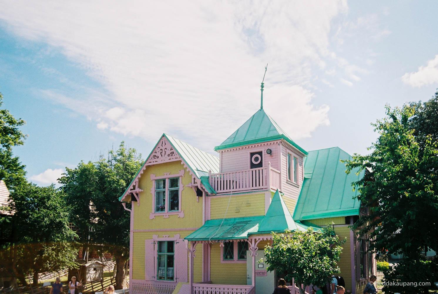 Villa Villekulla, Kneippbyn