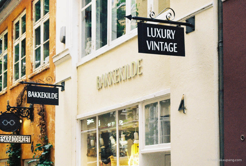 luxury vintage at Bakkekilde in Copenhagen