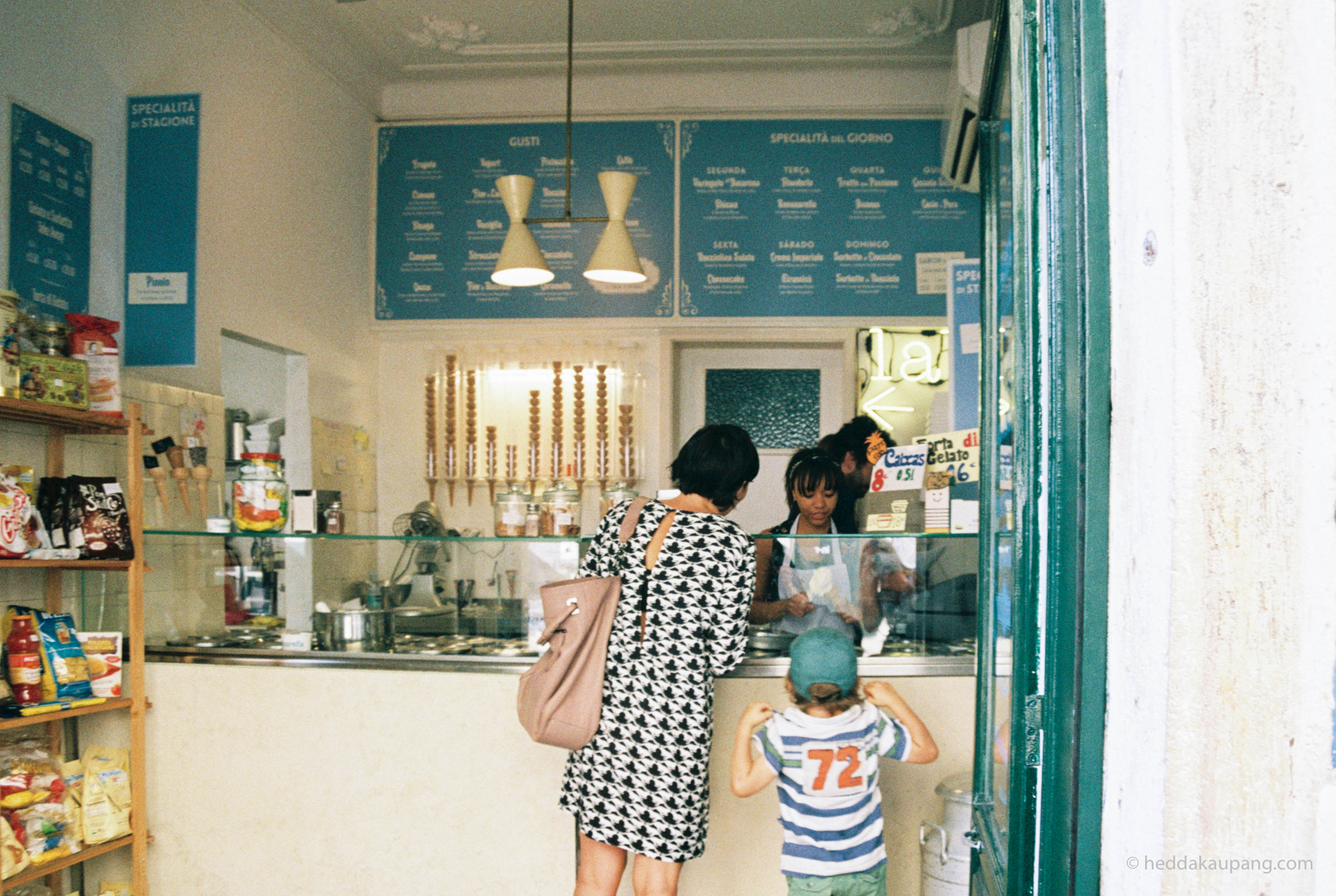 Nannarella Gelateria in Lisbon