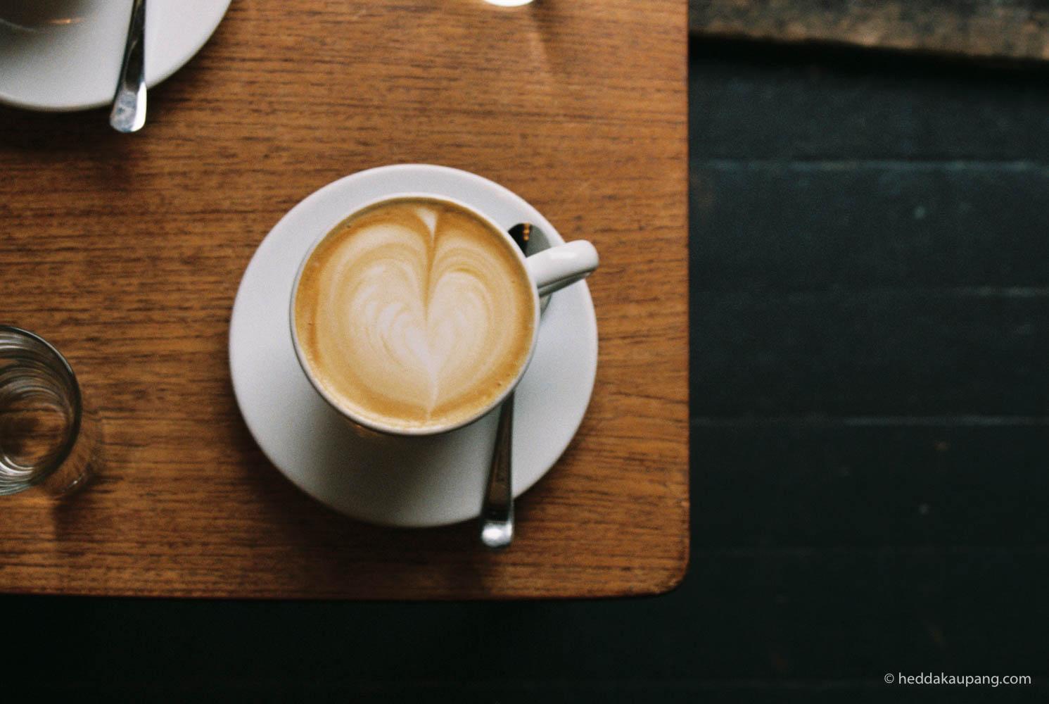 Kaffe på Tim Wendelboe