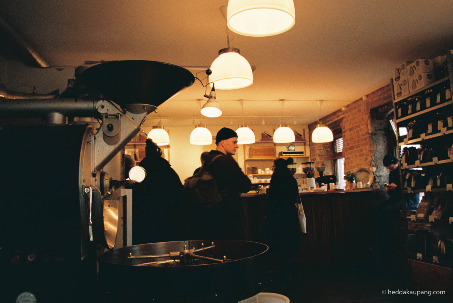 Kaffekvern på Tim Wendelboe i Oslo