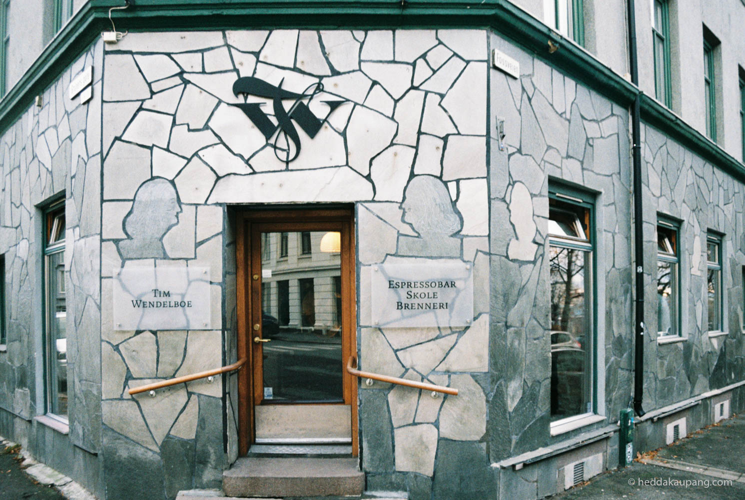 Fasaden til Tim Wendelboe