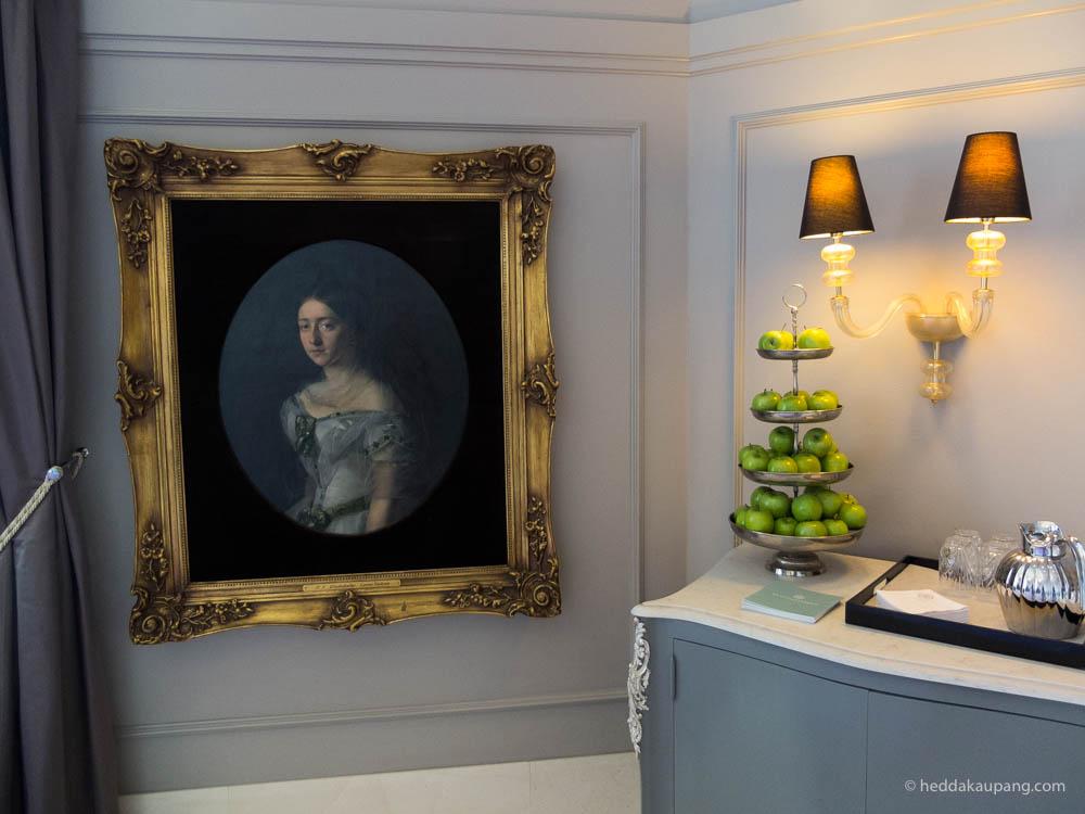 lobbyen på lukseriøse Hotel d'Angleterre i København