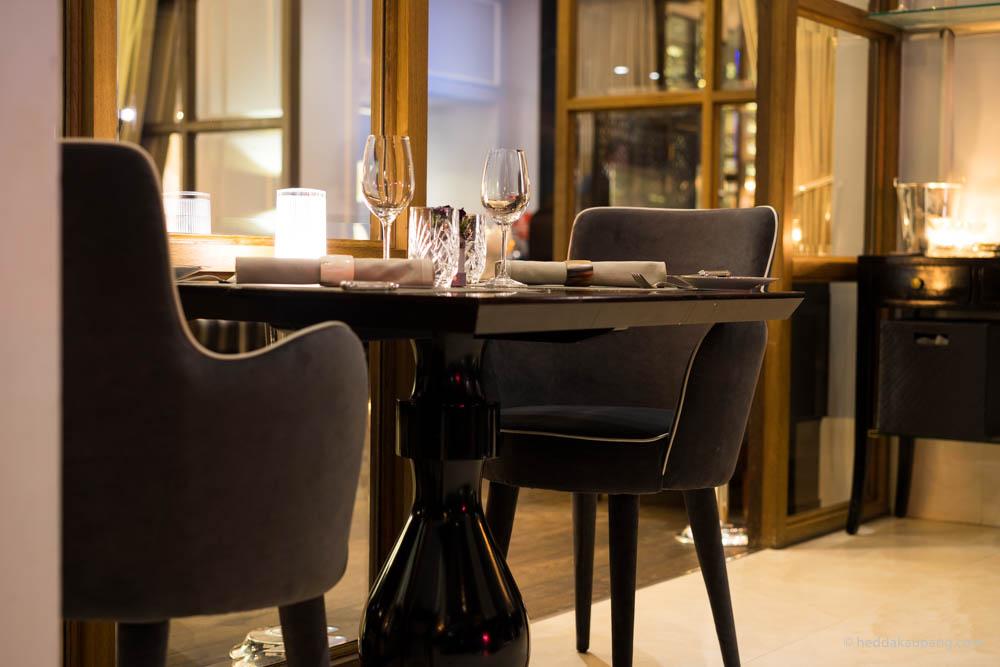 duket for en romantisk aften på Hotel d'Angleterre i København
