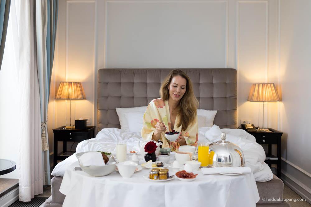 deilig frokost på luksuriøse Hotel d'Angleterre i København