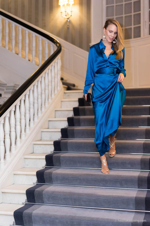 I trappene til luksuriøse Hotel d'Angleterre i København