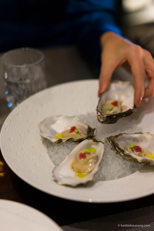 østers på Marchal – restauranten til Hotel d'Angleterre i København