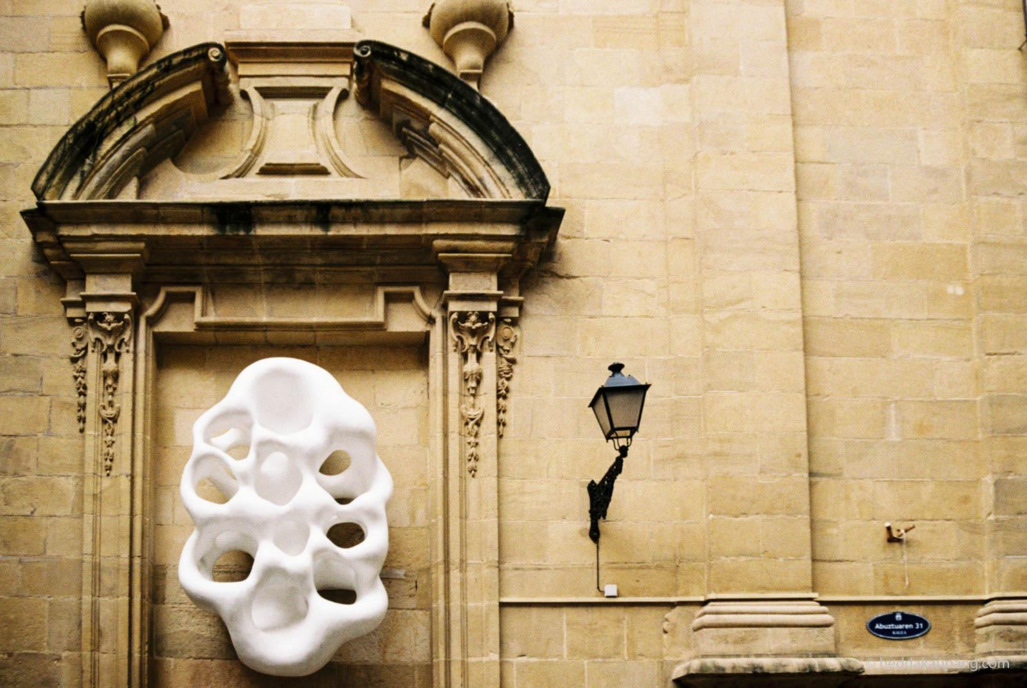 Vakre kirker og gater i San Sebastian