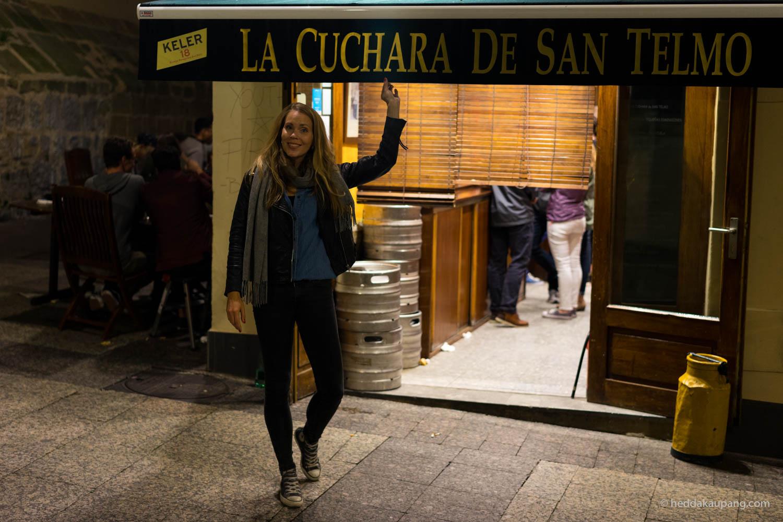 Den beste maten får du hos La Cuchara De San Telmo