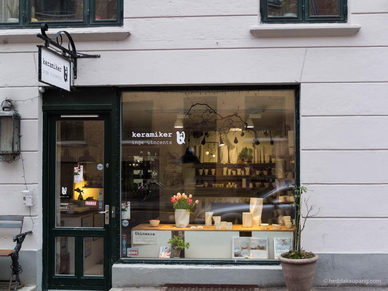 Keramiker Inge Vincents i København