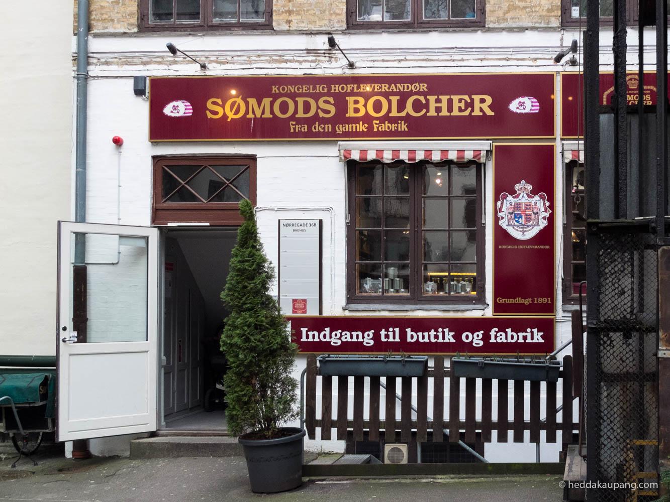 Sømods Bolcher er en herlig dropsbutikk i København