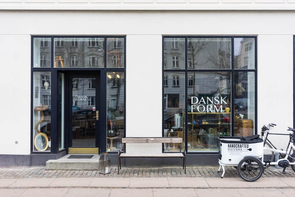 Dansk Form på Vesterbro i København